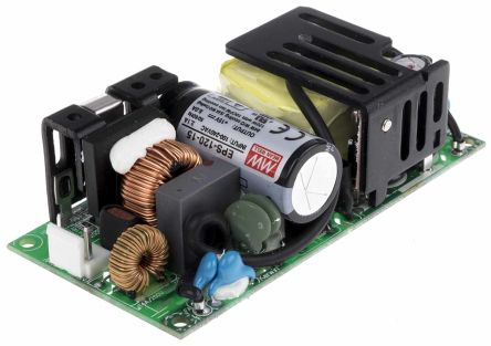 Mean Well , 84W Embedded Switch Mode Power Supply SMPS, 15V dc, Open Frame