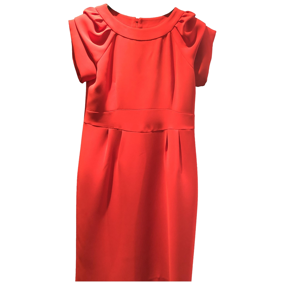Non Signé / Unsigned \N Red dress for Women 40 FR