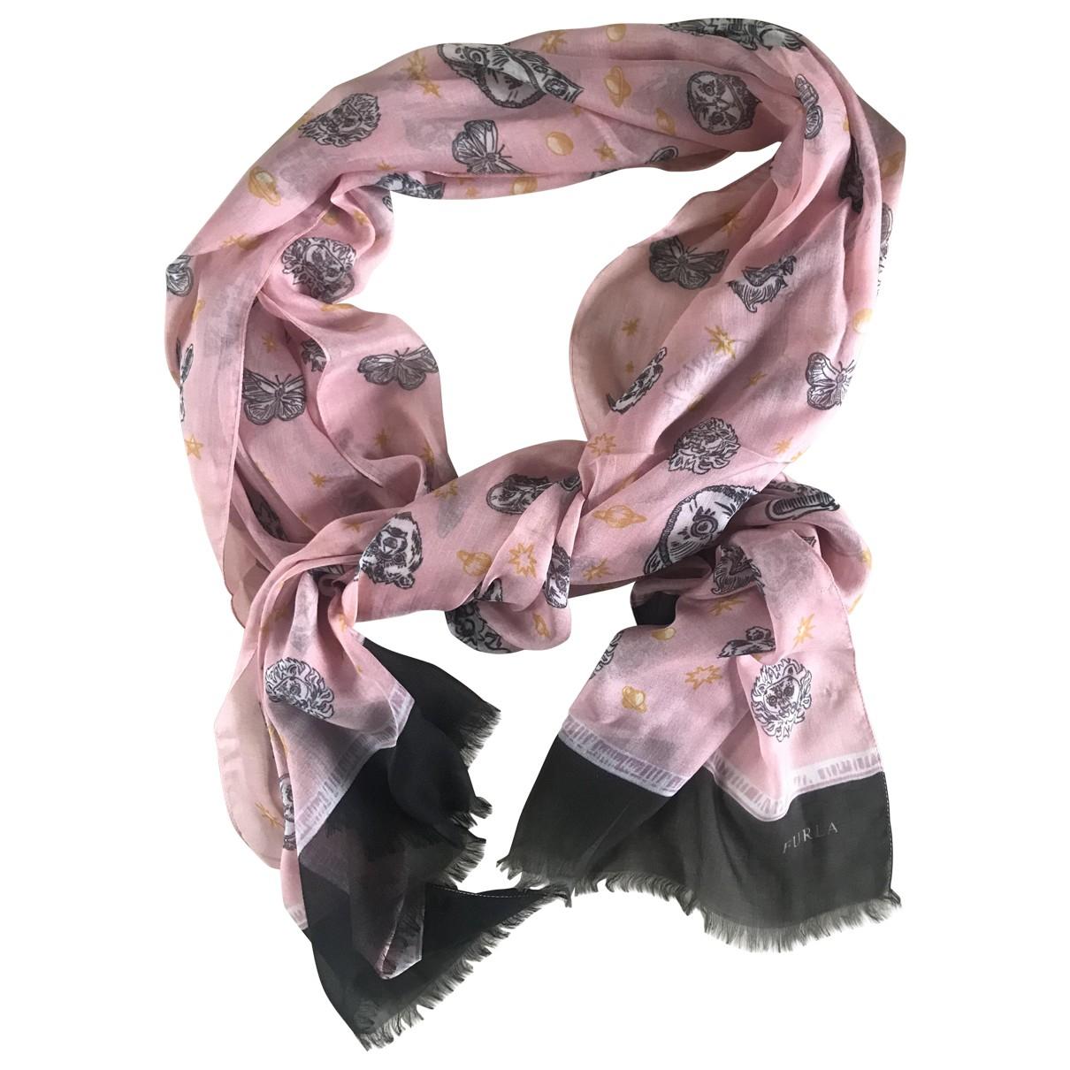 Furla - Foulard   pour femme en autre - multicolore