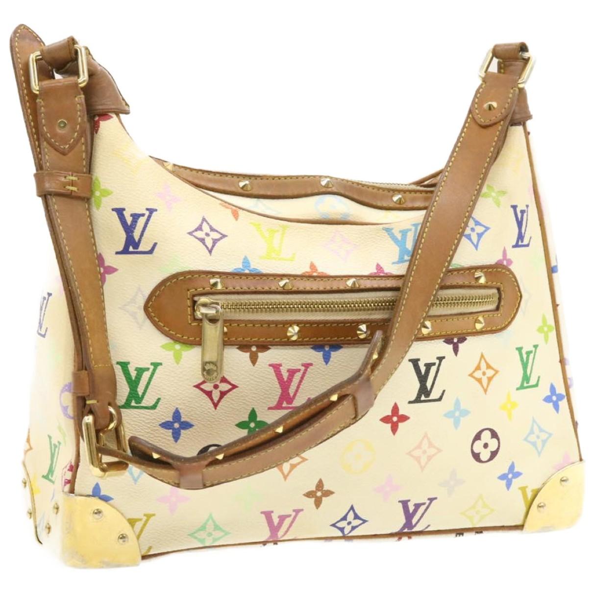 Louis Vuitton Boulogne White Cloth handbag for Women N