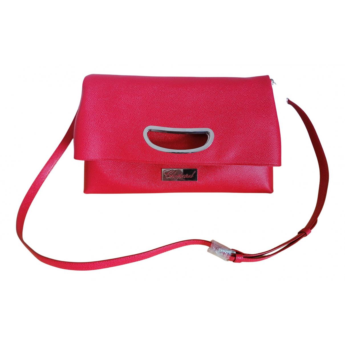 Chopard N Red Leather handbag for Women N