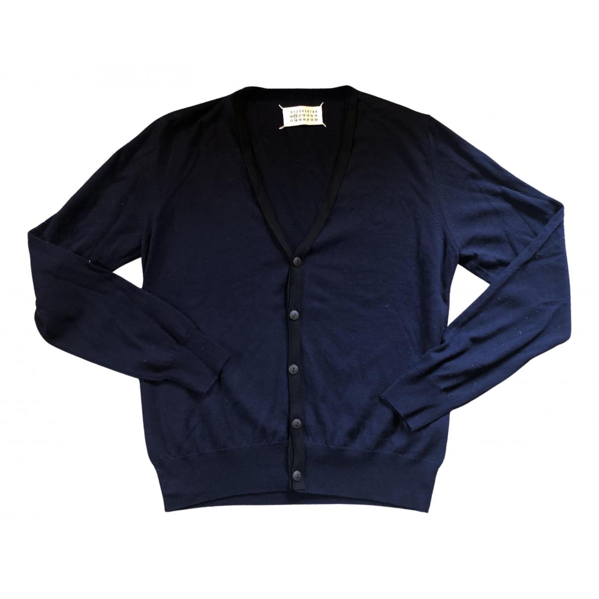 Maison Martin Margiela - Pull   pour femme en laine - bleu