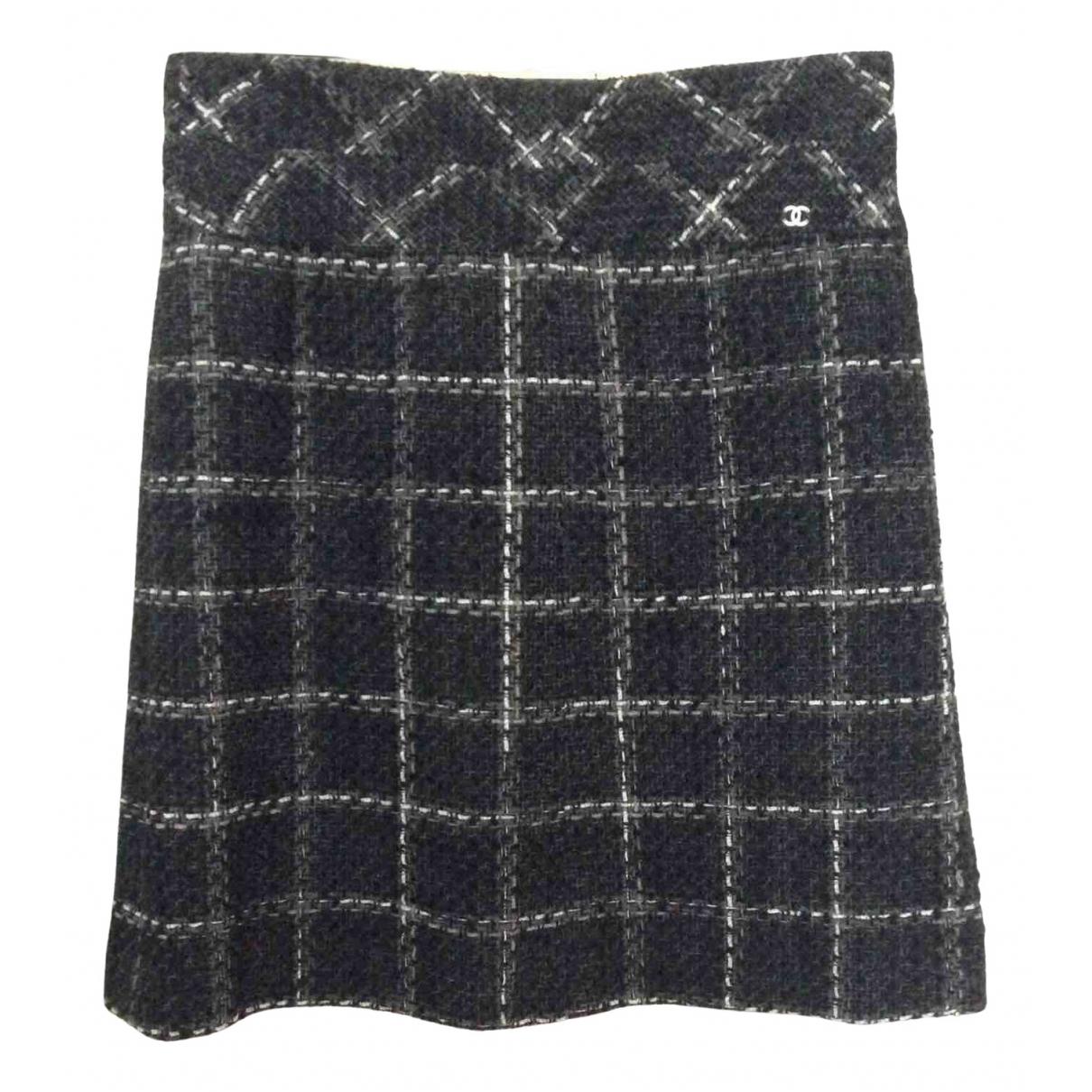 Chanel - Jupe   pour femme en laine - multicolore