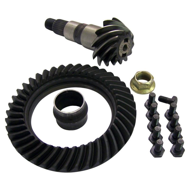 Crown Automotive 5066051AA Jeep Replacement Ring & Pinion Kit for KJ Liberty w/ Dana 30 Front Axle; 3.73 Ratio Jeep Liberty Front 2002-2007