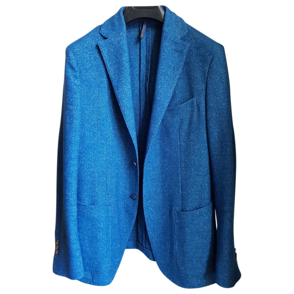 Slowear \N Jacke in  Blau Wolle