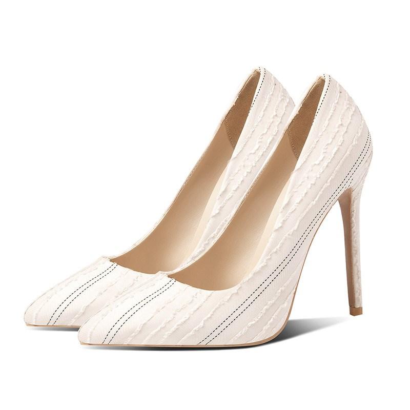 Ericdress Pointed Toe Stiletto Slip-On Women's Pumps