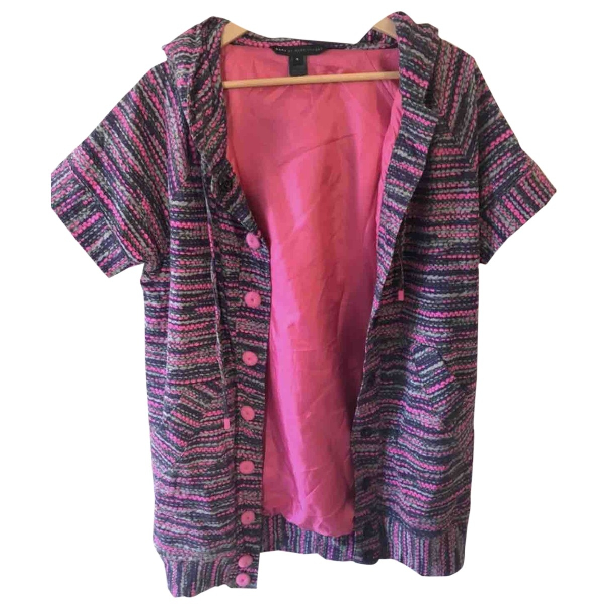 Marc By Marc Jacobs \N Pullover in  Rosa Baumwolle