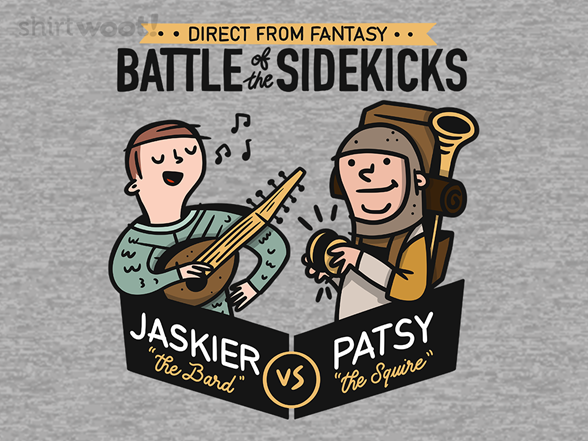Battle Of The Sidekicks T Shirt