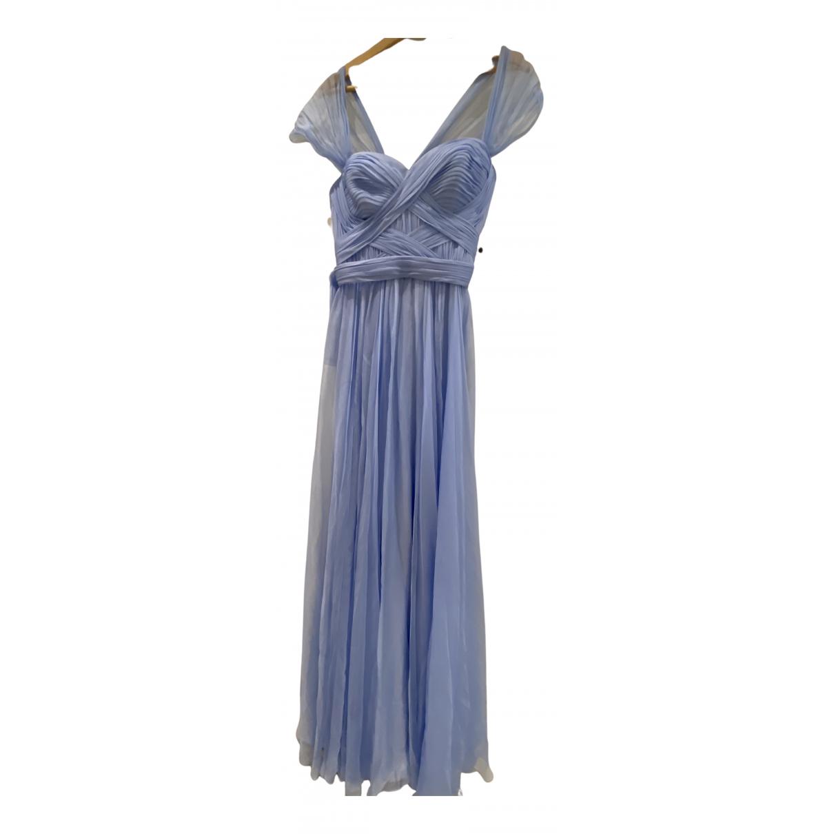 Ralph & Russo \N Kleid in  Blau Seide