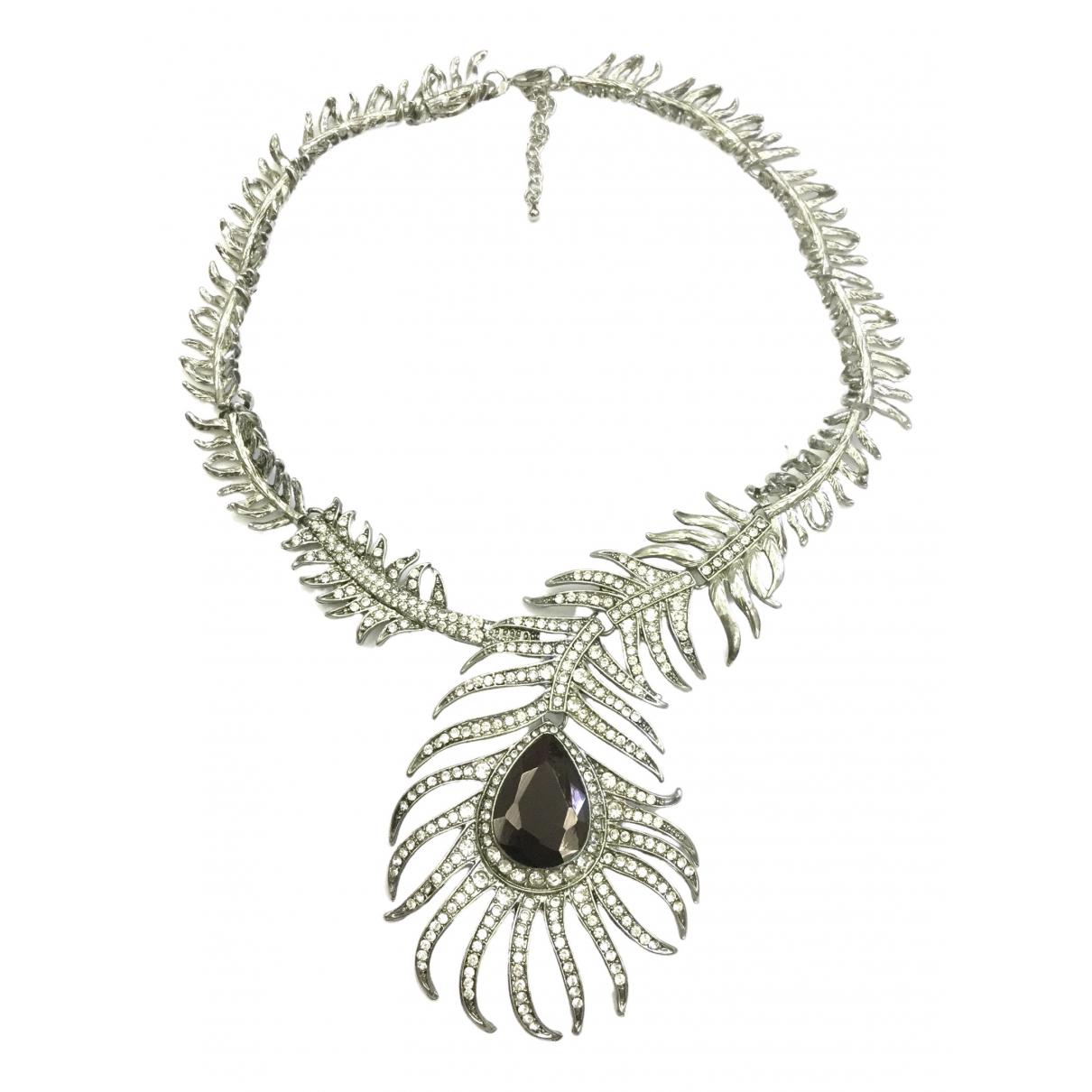 Yves Saint Laurent \N Kette in  Silber Metall