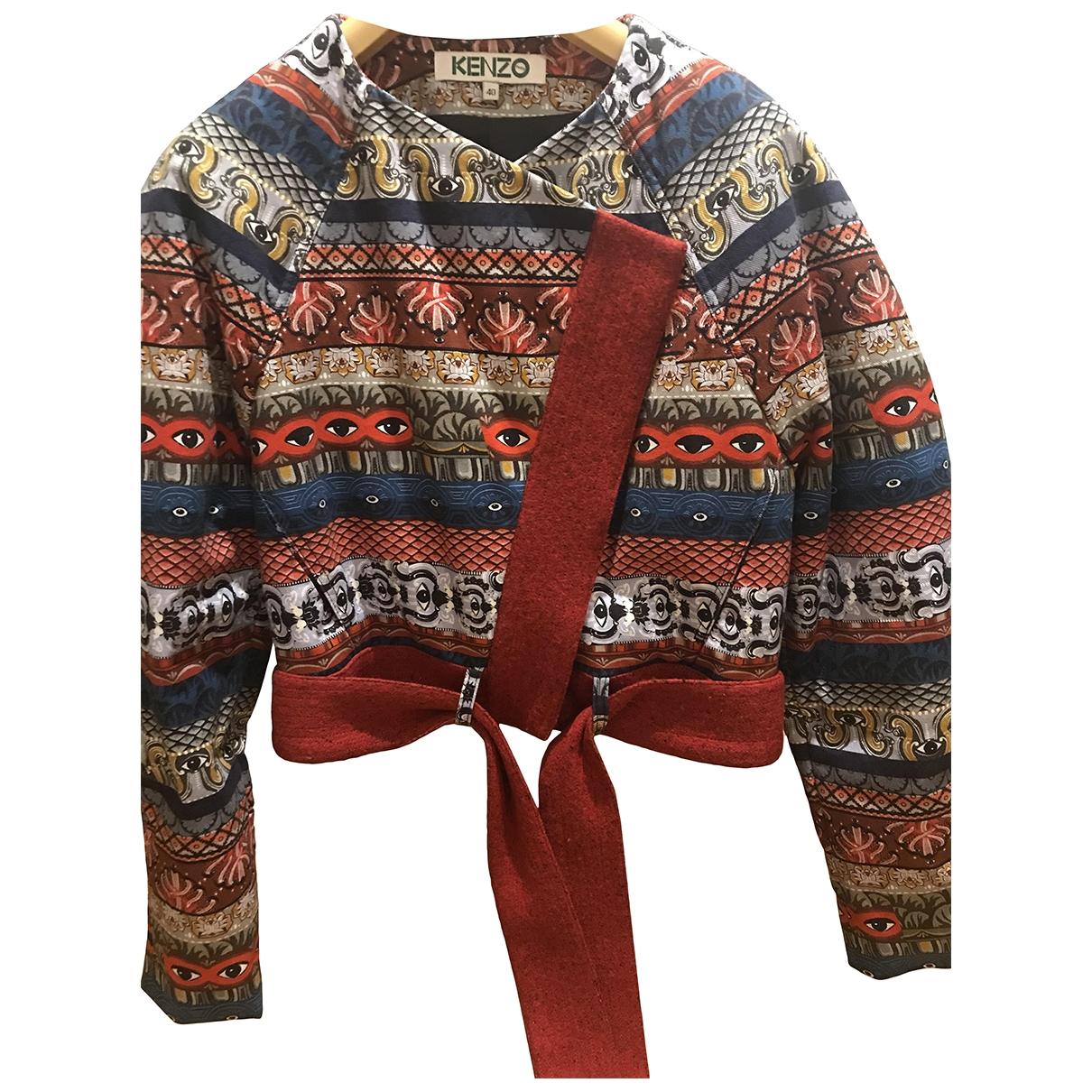 Kenzo \N Multicolour Cotton jacket for Women 40 IT