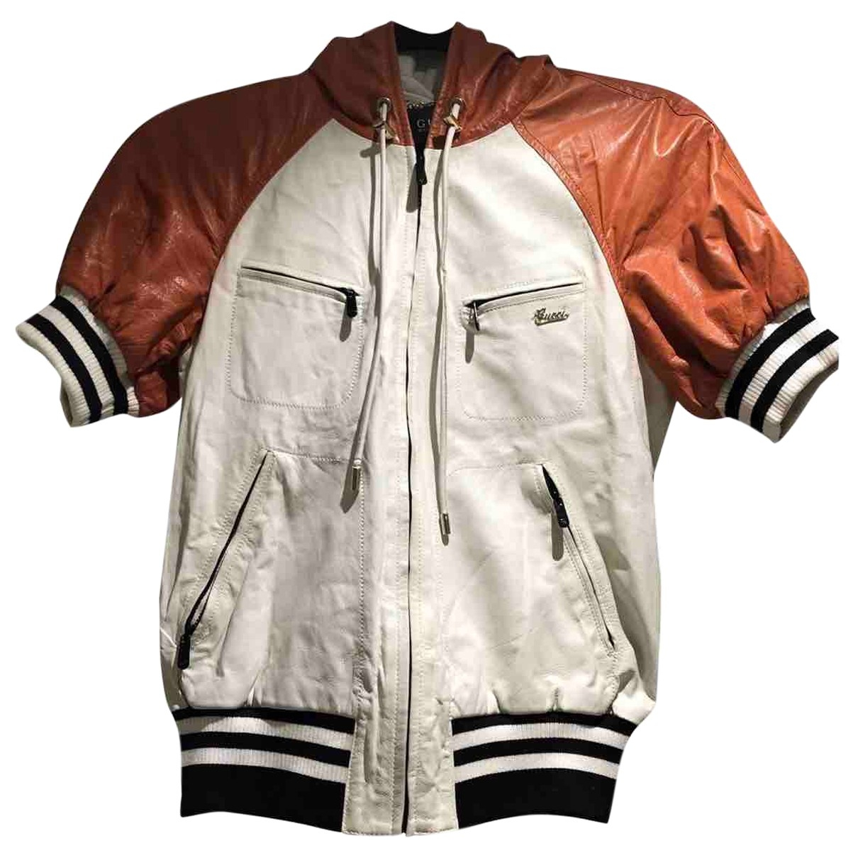 Gucci \N Multicolour Leather jacket for Women 40 FR
