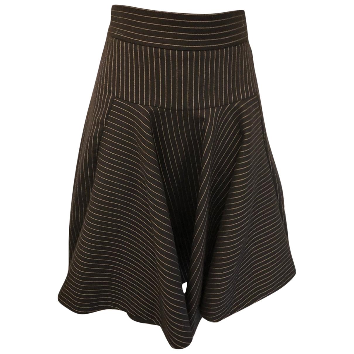Stella Mccartney \N Black Wool skirt for Women 40 FR