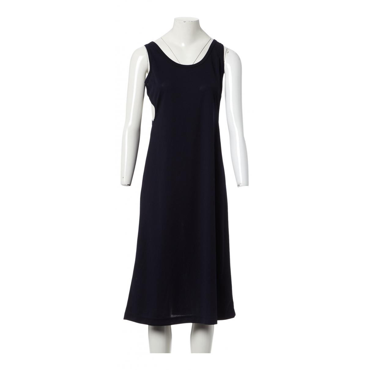 Comme Des Garcons \N Kleid in  Marine Polyester
