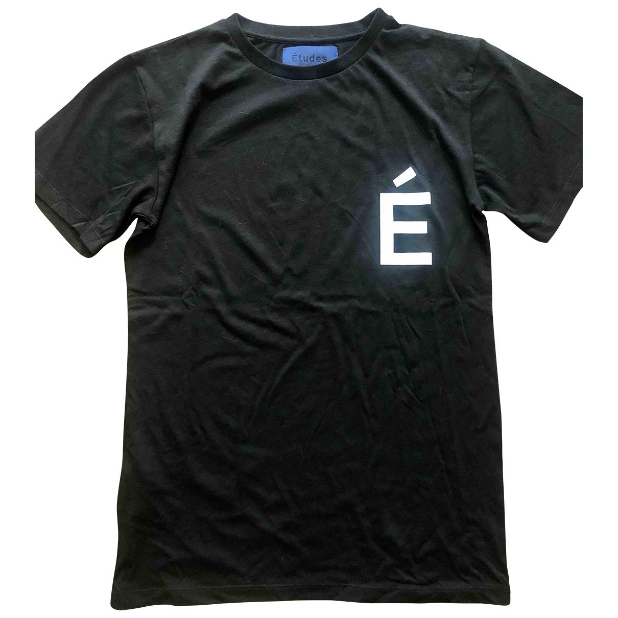 Etudes Studio \N T-Shirts in  Schwarz Baumwolle