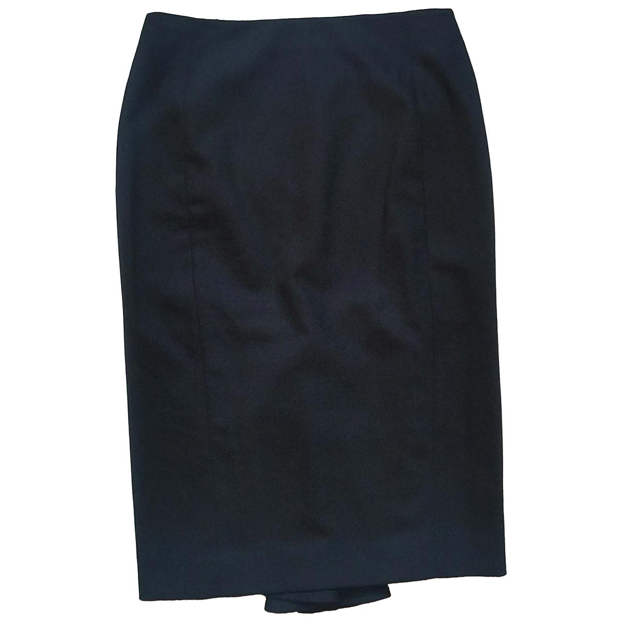 Gianfranco Ferré N Black Wool skirt for Women 38 IT