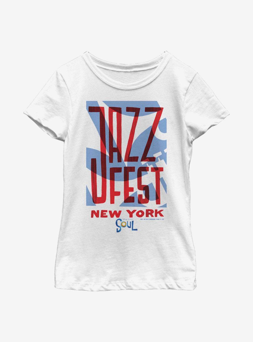 Disney Pixar Soul Jazz Fest Youth Girls T-Shirt
