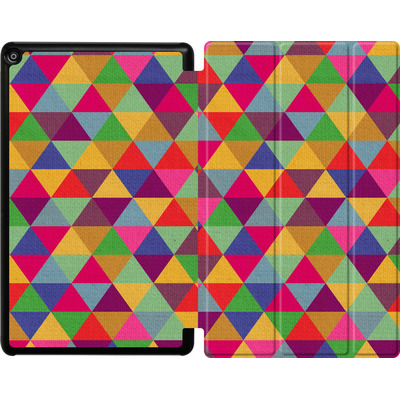 Amazon Fire HD 10 (2018) Tablet Smart Case - In Love With Triangles von Bianca Green