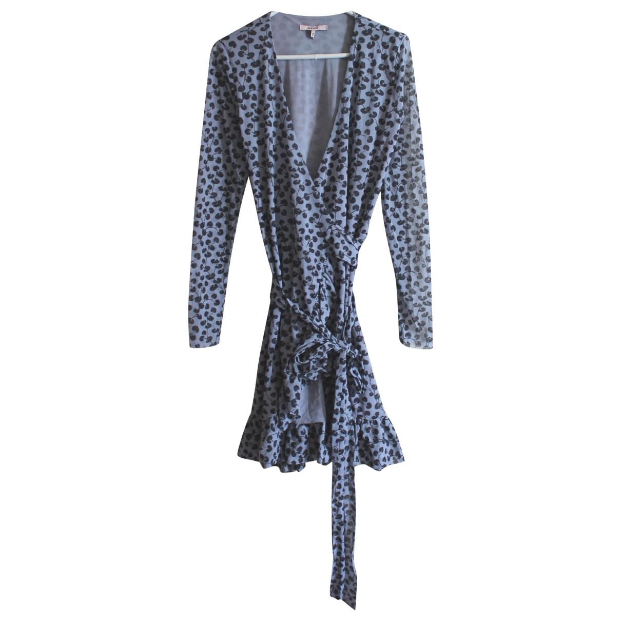 Ganni - Robe   pour femme - bleu