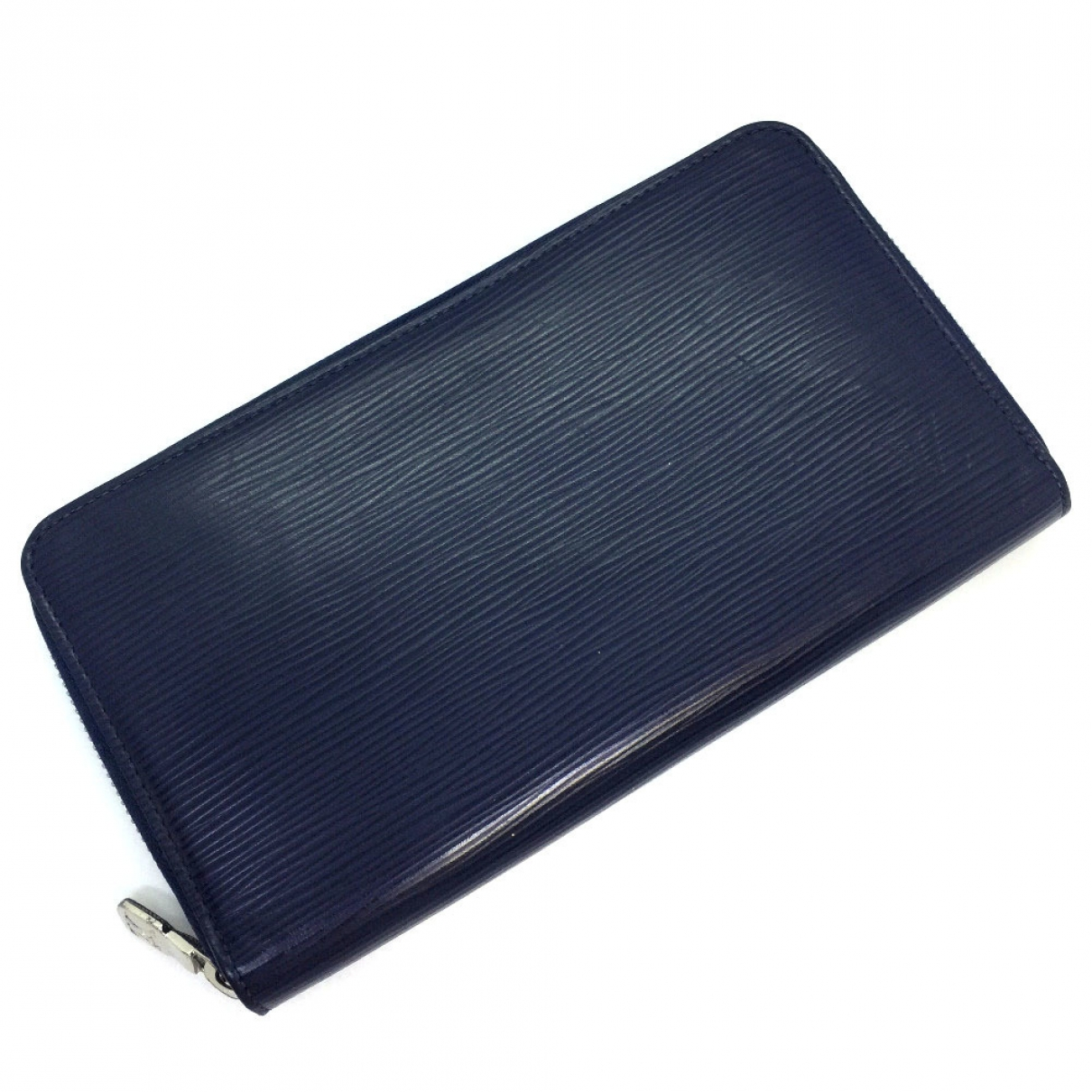 Louis Vuitton \N Navy Leather Small bag, wallet & cases for Men \N