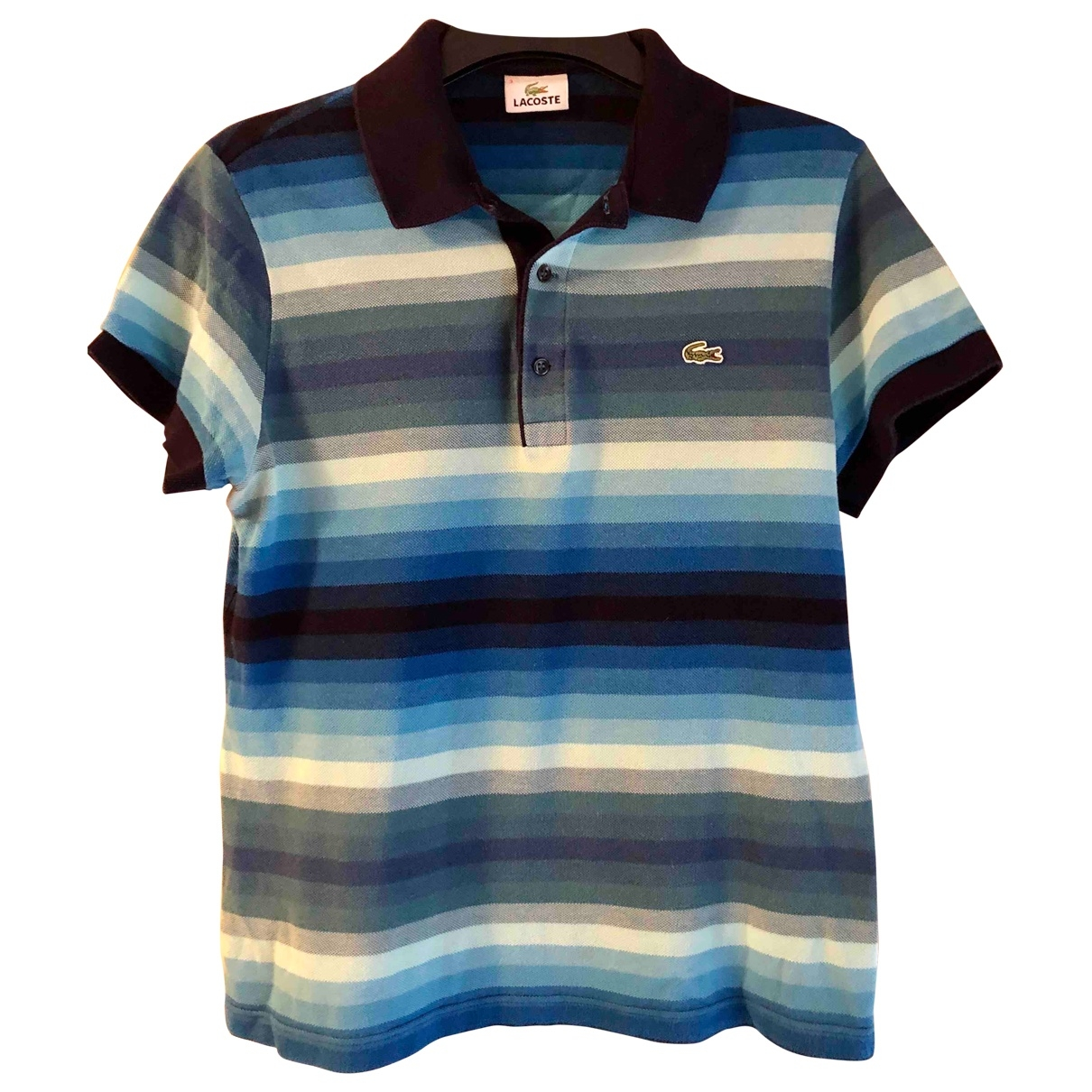 Lacoste \N Blue Cotton Polo shirts for Men 3 0 - 6