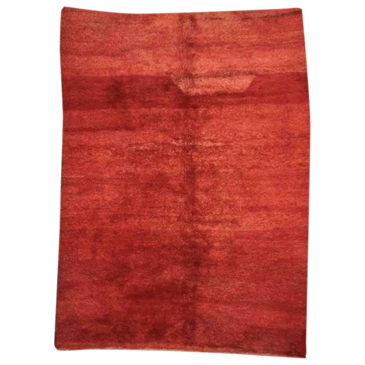 Non Signé / Unsigned N Red Wool Textiles for Life & Living N