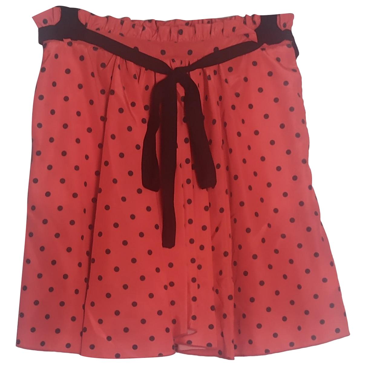Msgm N Red skirt for Women 42 IT