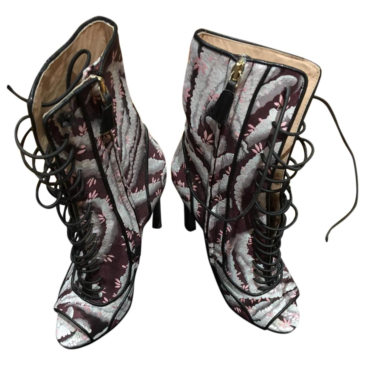 Giambattista Valli - Boots   pour femme en toile - violet