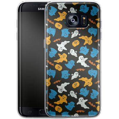 Samsung Galaxy S7 Edge Silikon Handyhuelle - Ghost Repeat von caseable Designs