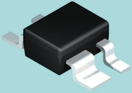DiodesZetex Diodes Inc 300V 250mA, Quad Silicon Junction Diode, 4-Pin SOT-143 BAW101-7 (100)