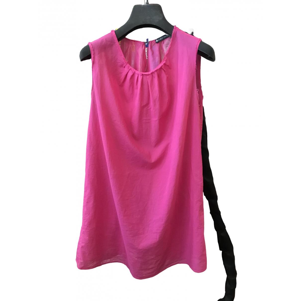 Lemaire - Top   pour femme en coton - rose
