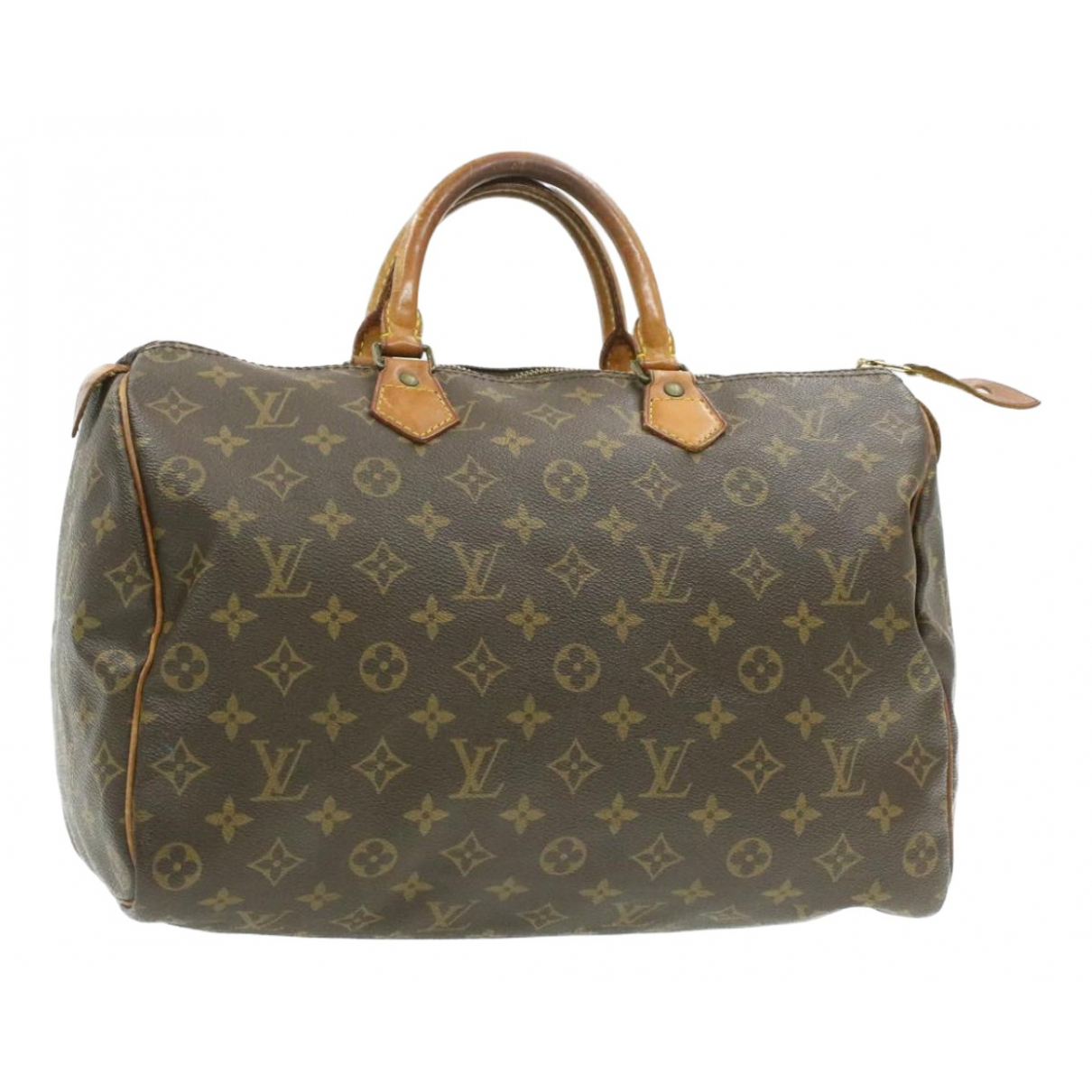 Louis Vuitton Speedy Brown Cloth handbag for Women N