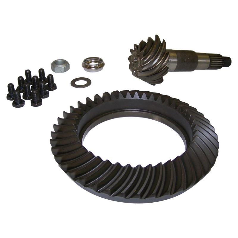 Crown Automotive 68003426AA Jeep Replacement Ring & Pinion Kit for 2007 JK Wrangler w/ Dana 44 Rear Axle; 4.11 Ratio Jeep Wrangler Rear 2007 3.8L V6