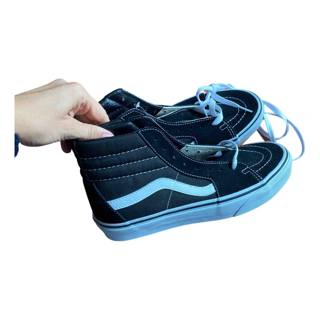 Vans X Supreme \N Sneakers in  Schwarz Kautschuk