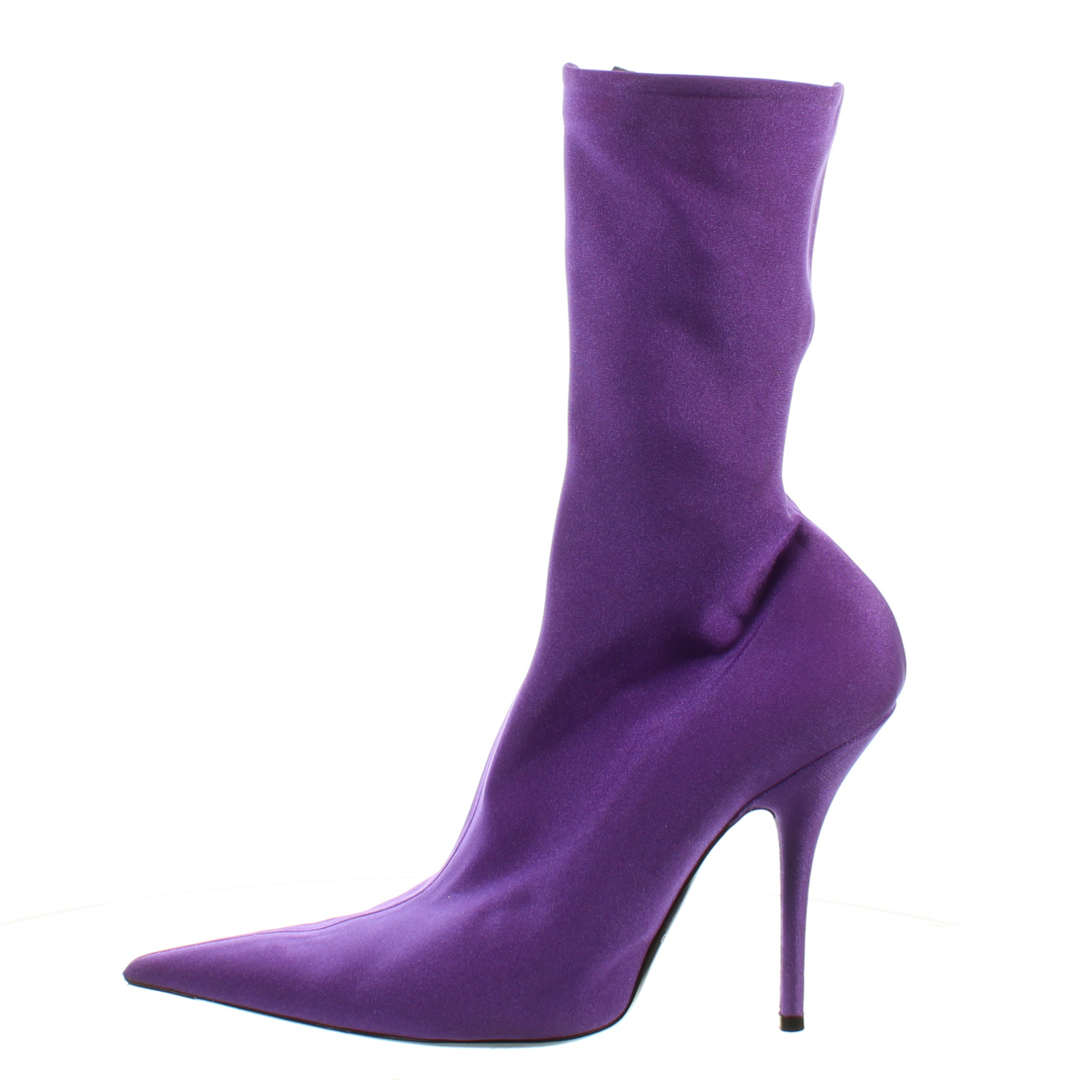 Balenciaga - Escarpins   pour femme en cuir - violet