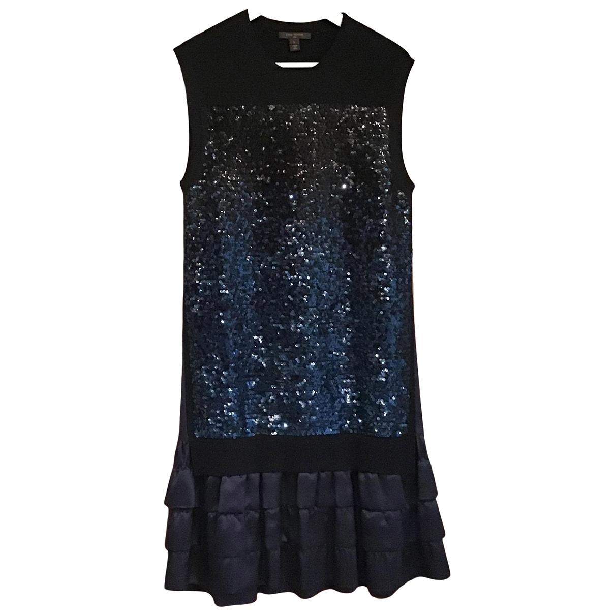 Louis Vuitton - Robe   pour femme en a paillettes - bleu