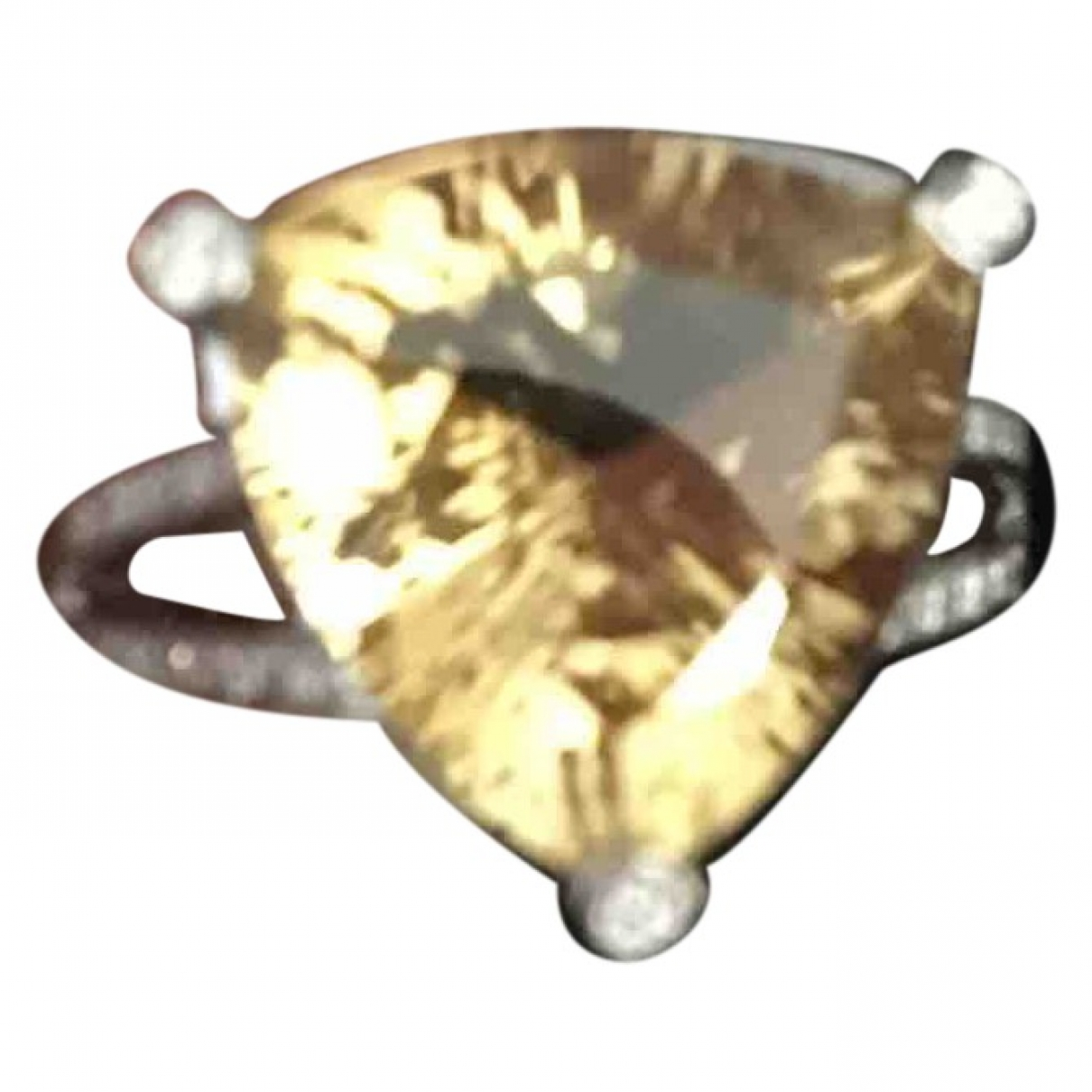 Mauboussin \N Grey White gold ring for Women 52 MM