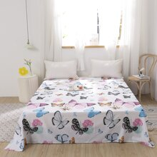1 Stueck Decke mit Schmetterling Muster