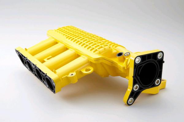 SPOON Sports 17110-GE8-Y00 Intake Chamber Yellow Honda Fit GE8 09-13