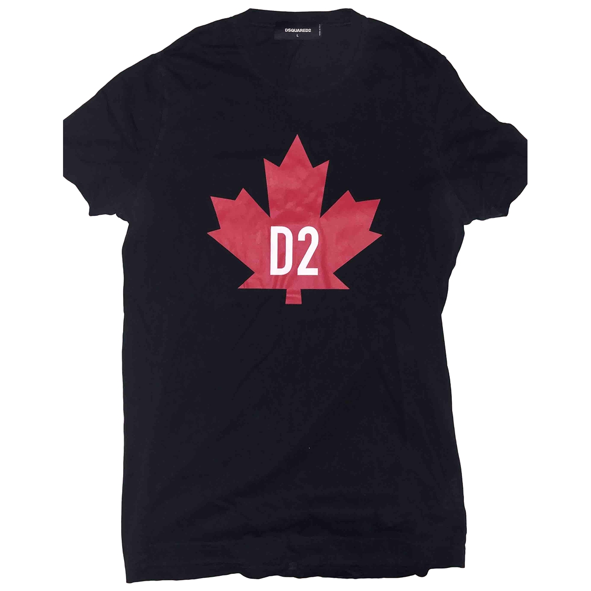 Dsquared2 \N Black Cotton T-shirts for Men L International
