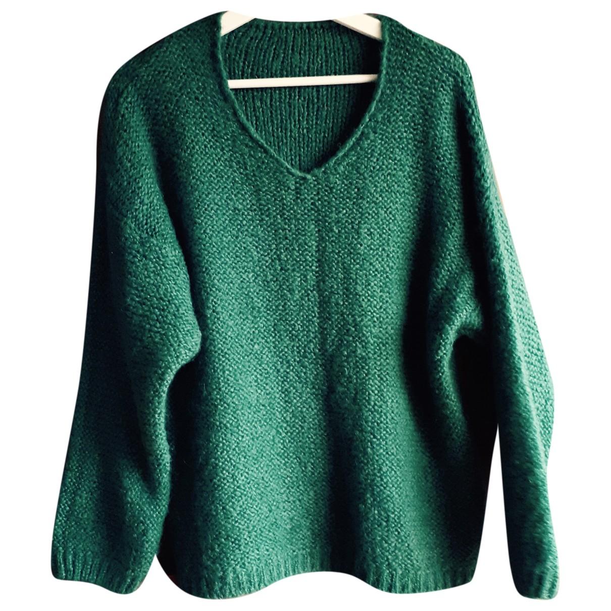 Autre Marque N Green Wool Knitwear for Women One Size International