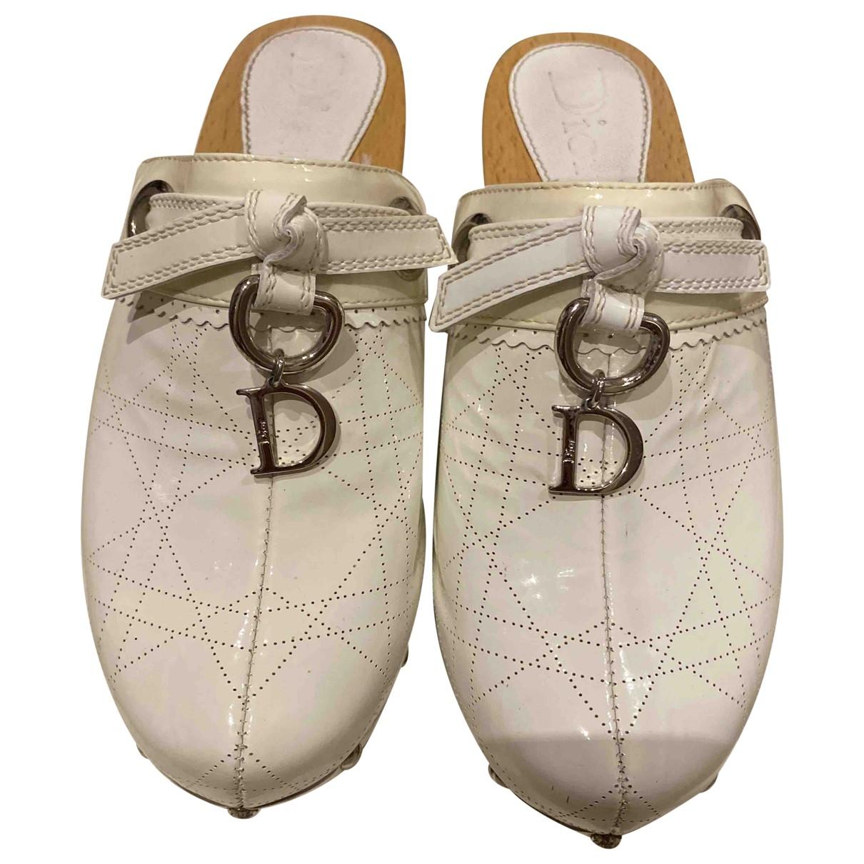 Zuecos de Charol Dior
