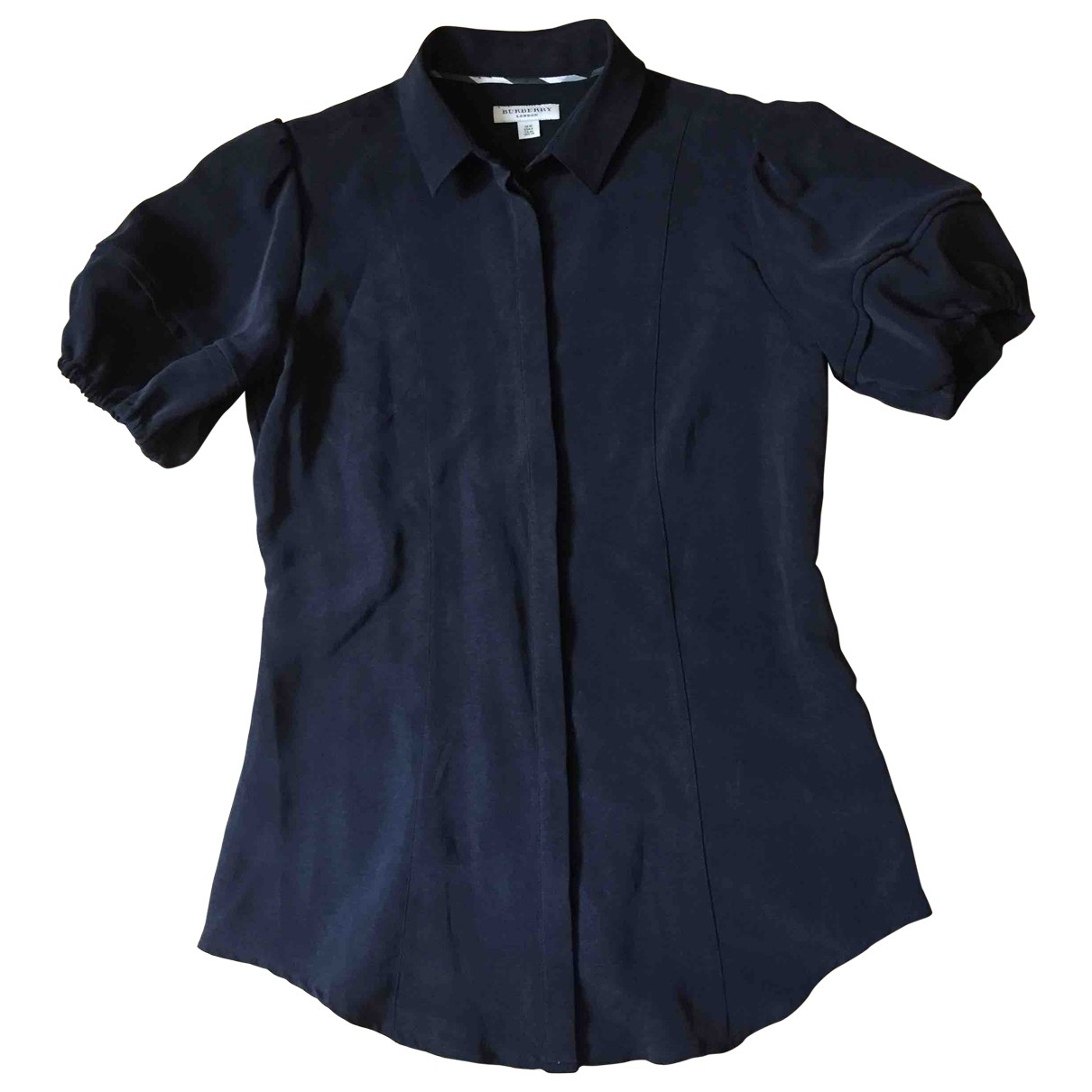 Burberry \N Black Silk  top for Women 8 UK
