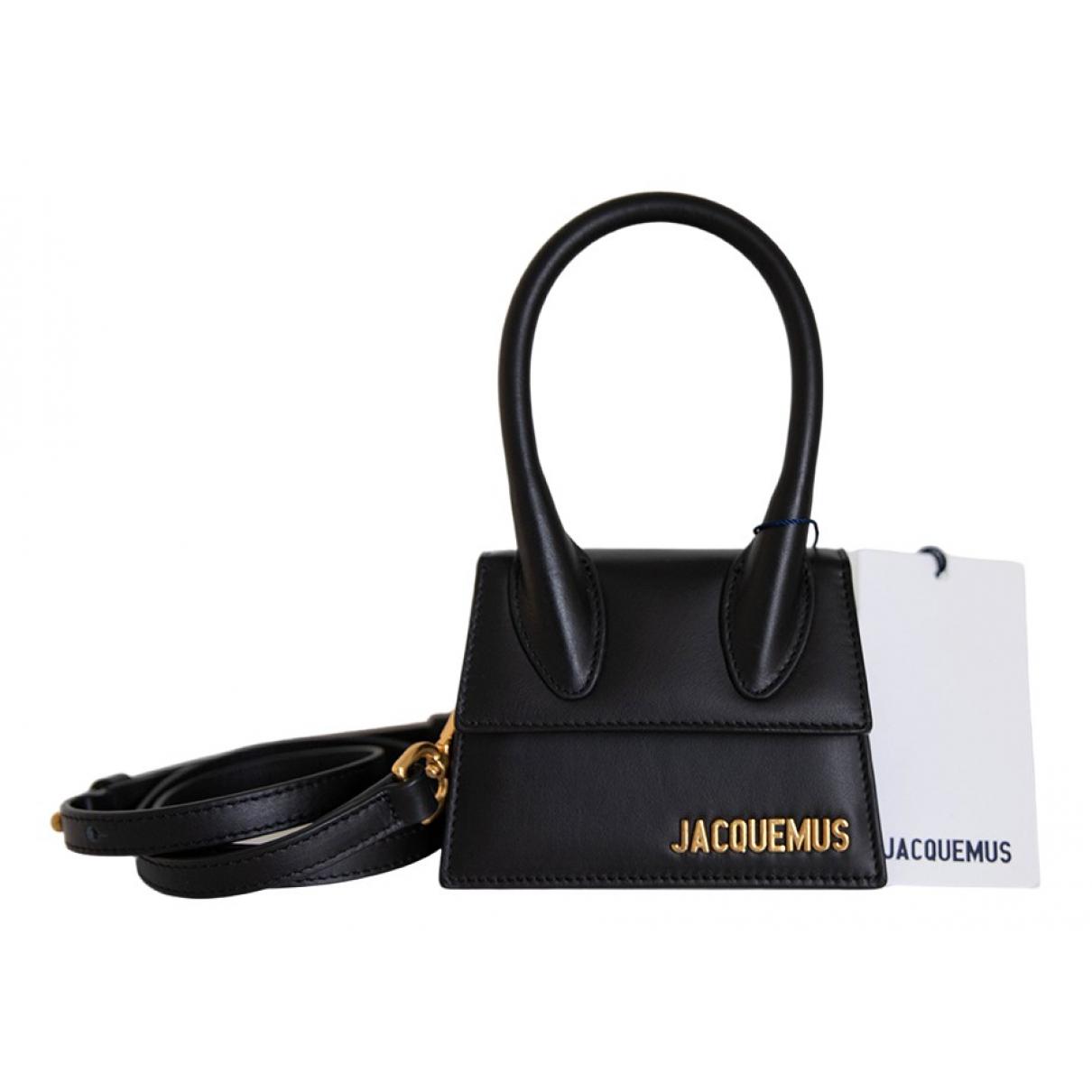 Jacquemus - Sac a main Chiquito pour femme en cuir - noir