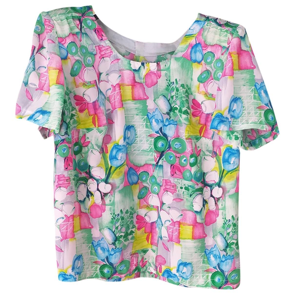 - Top Oversize pour femme - multicolore