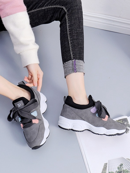 Yoins Casual Thick Sneakers