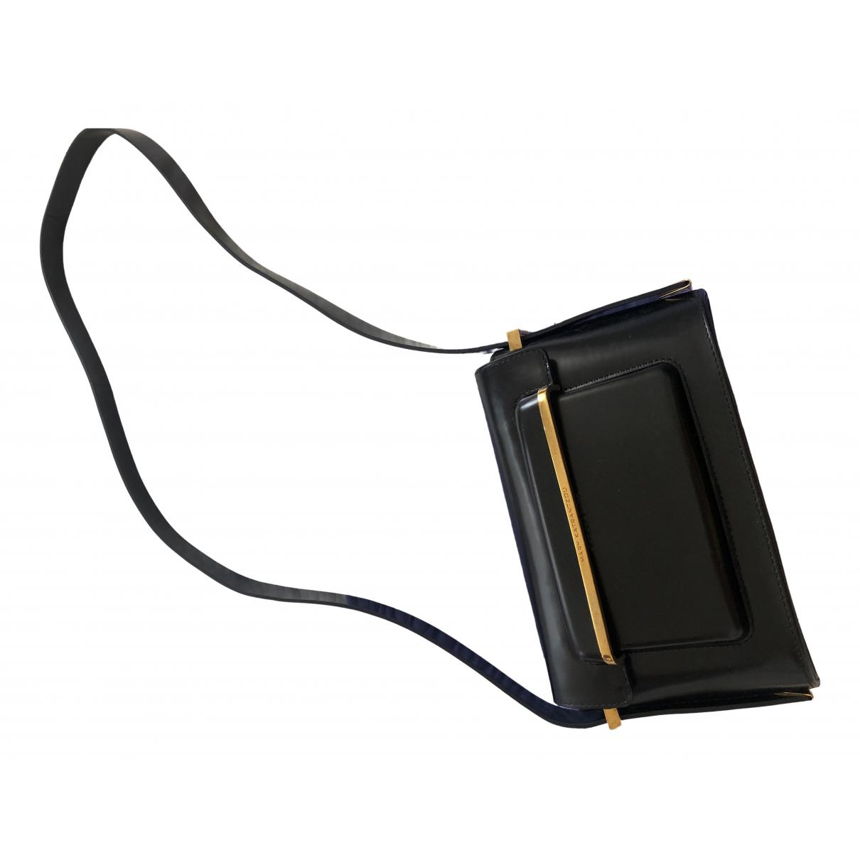 Mary Katrantzou \N Black Leather handbag for Women \N