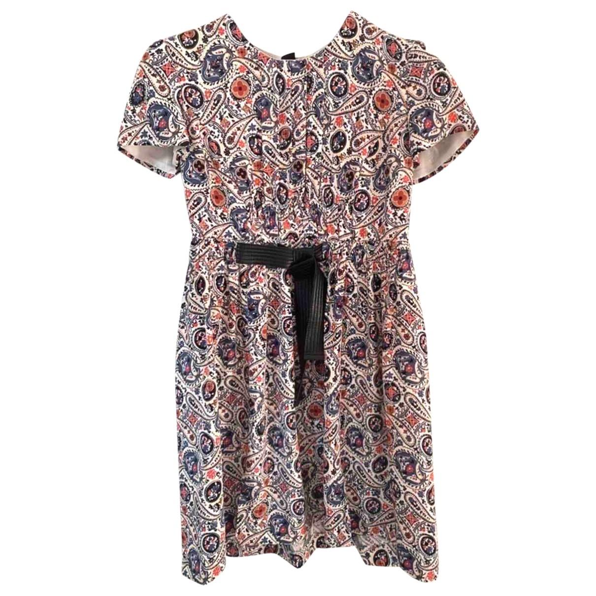 Louis Vuitton - Robe   pour femme en soie - multicolore