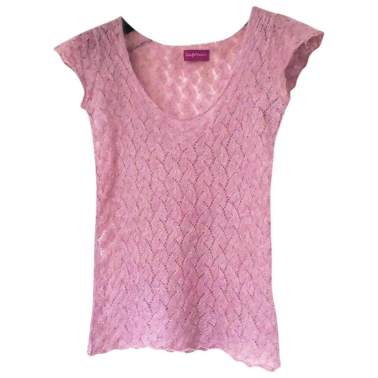 Zadig & Voltaire - Pull   pour femme en laine - rose