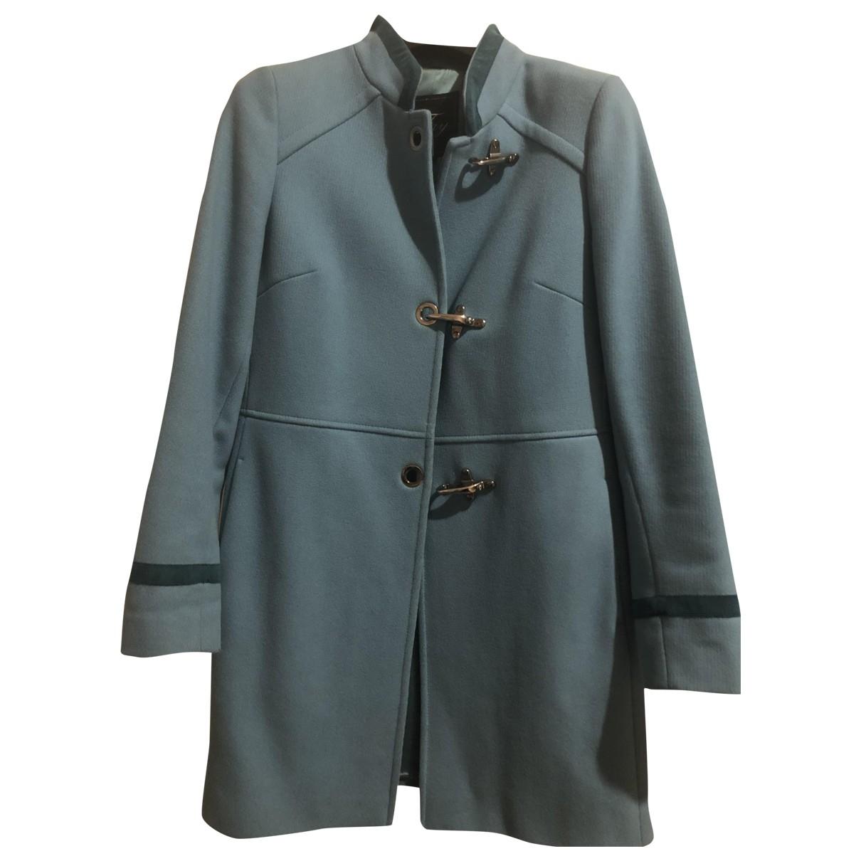 Fay - Manteau   pour femme en laine - turquoise